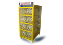 Gas cylinder cabinets.